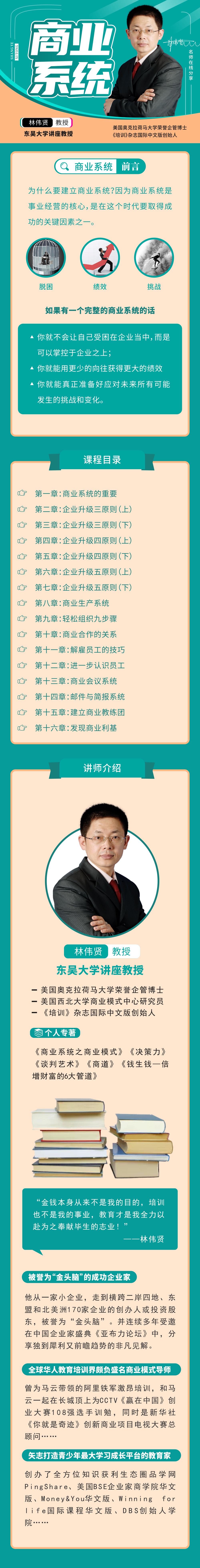 397f219048e64014b8a8eb36d9dd120a - 林伟贤讲商业系统,建立一个完整的商业系统